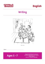 Key stage 1 Literacy Writing Worksheets for kids - writing, printable workbook, 5-7 years